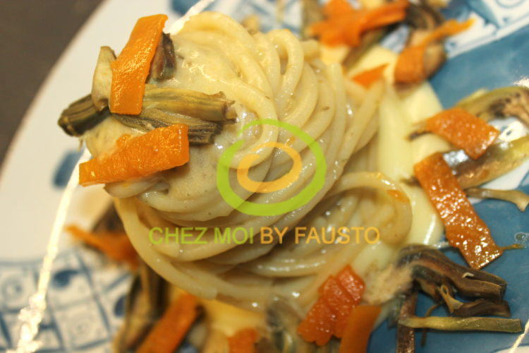 spaghettoni vegetariani